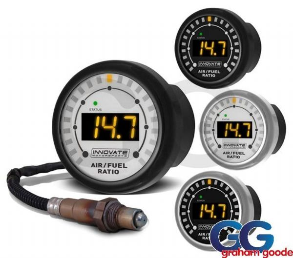 Innovate Motorsports MTX-L Wideband Air Fuel Ratio Gauge With 3 Foot Sensor Cable INN3845